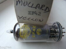EF42 MULLARD YELLOW PRINT    VALVE TUBE 1 PC F