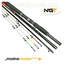 NGT Marinemaster 3+3 Tip Carbon Beach / Boat Convertible Sea Fishing Rod 8ft/6ft