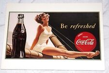 Postcard of a 1949 Coca-Cola Poster Be Refreshed New Unposted