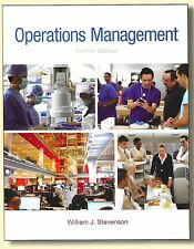 Operations Management, by Stevenson, 12th Edition Loose Leaf Binder-ready