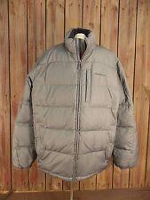 EDDIE BAUER Coat Puffer Down Filled Gray Men's Size XL