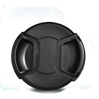 55mm Front Lens Cap Hood Cover Snap-on For Canon Sony Leica Olympus Nikon Camera