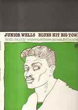 JUNIOR WELLS - blues hit big town LP