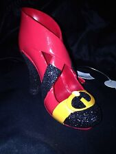 DISNEY PARKS MRS INCREDIBLE SHOE ORNAMENT CHRISTMAS