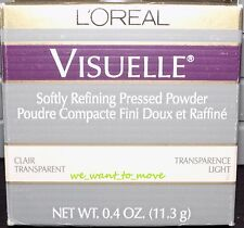 L'Oreal VISUELLE Softly Refining Pressed Powder - TRANSPARENCE / LIGHT - NEW