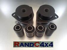 1249 Land Rover Defender suspensión trasera Trailing Brazo Top & Bottom Bush Kit 09on