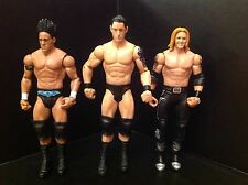Wwe nexus darren young heath slater wade barrett mattel toy wrestling figures