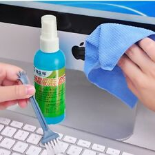 Laptop LCD Monitor Plasma Screen Cleaning Kit Cleaner With Keyboard Brush Cloth