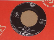"THE BROWNS -Teen-Ex- 7"" 45"