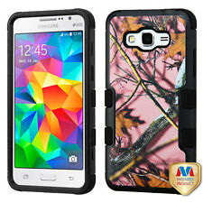 Pink Oak-Hunting Camouflage Black TUFF case SAMSUNG G530 Galaxy Grand Prime