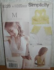 Womens/Misses Soft Cup Bras & Panties Sewing Pattern/Simplicity 8228/All Szs/UCN