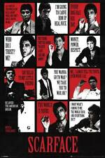 New! Scarface Collage 24x36 Fine Art Print Poster Home Wall Decor Z161