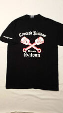 Outlaws MC SYLO  Crossed Piston Saloon Support T-Shirt, short sleeve, S- 5XL