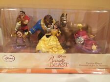 Beauty and the Beast Figure Figurine 6 Pcs Play Set Disney Store Cake Toppers