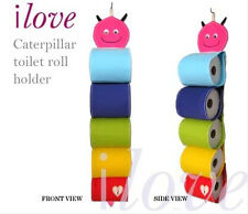 ilove caterpillar magazine or toilet rolls hanging holder