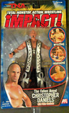 2005 TNA Total Non Stop Action The Fallen Angel Christopher Daniels -Marvel Toys