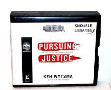 BOOK/AUDIOBOOK CD Ken Wytsma Religion Self Help PURSUING JUSTICE