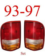 93 97 Ranger Tail Light Set, Ford, Complete Assembly, 2WD, 4WD, Both Sides L&R!