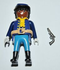 36177 Buffalo Soldier, 9th/10th US cavalry ACW 1870 Soldado CUSTOM playmobil