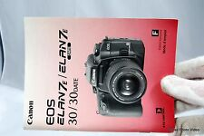 Canon Camera EOS Elan7e/Elan7e Date Instruction Manual Guide Genuine F french