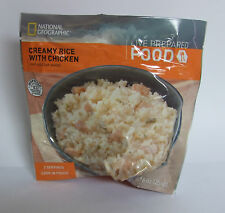 National Geographic MRE Creamy Rice w/Chicken 6 Packs/12 Servings Best: 07/2023