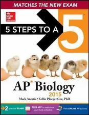 5 Steps to a 5 AP Biology, 2015 Edition, Cox, Kellie, Anestis, Mark