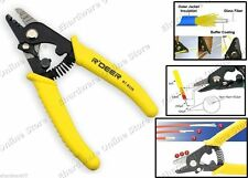 Fiber Optic Cable Buffers and Jackets Three-Hole Stripping Tool (RT-8326)