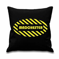 """Madchester 18"""" x 18"""" Filled Cushion - Manchester Factory Records Happy Mondays"""