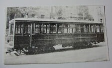 USA850 SAGINAW ELECTRIC Co - TROLLEY CAR No221 PHOTO Michigan USA
