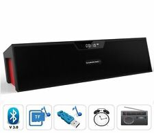 Potente Portatile Wireless Bluetooth altoparlante stereo, supporto allarme FM TF USB UK
