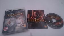 GOD OF WAR COLLECTION REMASTERIZADO SONY PLAYSTATION 3 PS3 PAL ENGLISH SPIEL JEU
