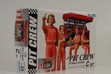 F1 PIT CREW Pitwall STAND Figura Diorama KIT KIT id-25 - 1:20 FUJIMI 113326