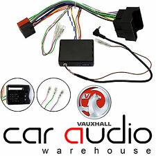 Vauxhall Astra 2004-2009 Car Radio Steering Wheel Interface & FREE PATCH LEAD