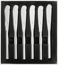 STELLAR Rochester All Polished Butter Knife-Set 6. Dining/Tableware Cutlery.BL45
