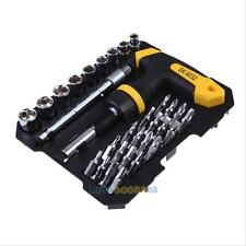 32PC Ratchet Screwdriver Socket Set Precision DIY Hand Tools Repair Tool Kit Set