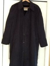 VINTAGE NAVY BLUE Ceiling Zero WEATHER RESISTANT TRENCHCOAT  Approx. SIZE L