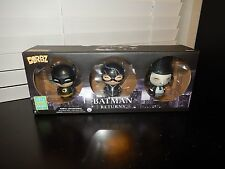 FUNKO DORBZ BATMAN RETURNS SET OF 3 SDCC 2016 EXCLUSIVE BATMAN-CATWOMAN-PENGUIN