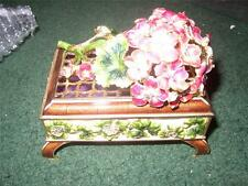 JAY STRONGWATER GERANIUM FLOWER BOX LIMITED EDITION SIMPLY STUNNING