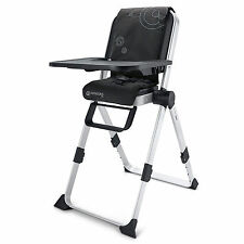 NEW CONCORD SPIN COMPACT FOLDING HIGHCHAIR RAVEN BLACK