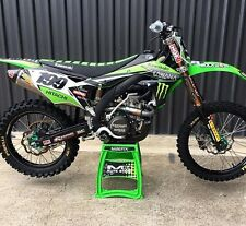 NEW 'KAWANA' Full Graphics Decals Kit Kawasaki KXF250 KXF 250 KX250F 2012 2013