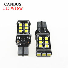 LED W16W 5000k White 921 T10 T15 Back up Reverse Light Bulb 955 7.5W