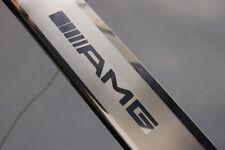 MERCEDES ML (W164) Edelstahl  Einstiegsleisten mit ///AMG  Logo
