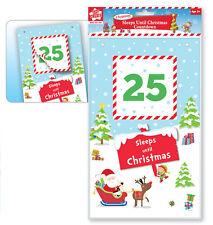 Cuenta atrás para Navidad Calendario Duerme Hasta regresiva Arrancar
