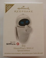 Hallmark 2012 Disney Pixar Wall-E EVE Special Edition Limited Christmas Ornament