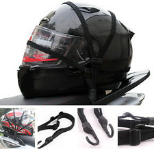 Strength Retractable Helmet Luggage Elastic Rope Strap With Hooks For BMW Moto