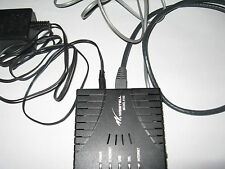 Westell E90-610015-06 modem with power cord, RJ and telephone cables