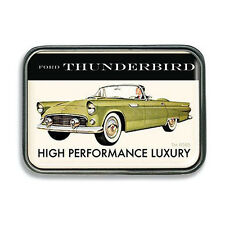 1955 Ford Thunderbird Vintage Rockabilly Retro Belt Buckle Gürtel Gürtelschnalle