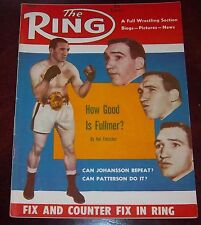 The Ring Magazine March 1960 Gene Fullmer  Collectable