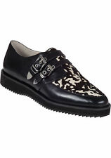 Offer-New Michael Kors White/ Black Moccassino Cassie Loafer / Shoes-UK 5.5 US 8