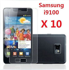 Samsung S2 2 SII i9100 Galaxy Screen Protector Film Bulk Wholesale Lot X 10
